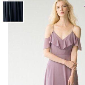 Jenny Yoo Mila Dress in NAVY